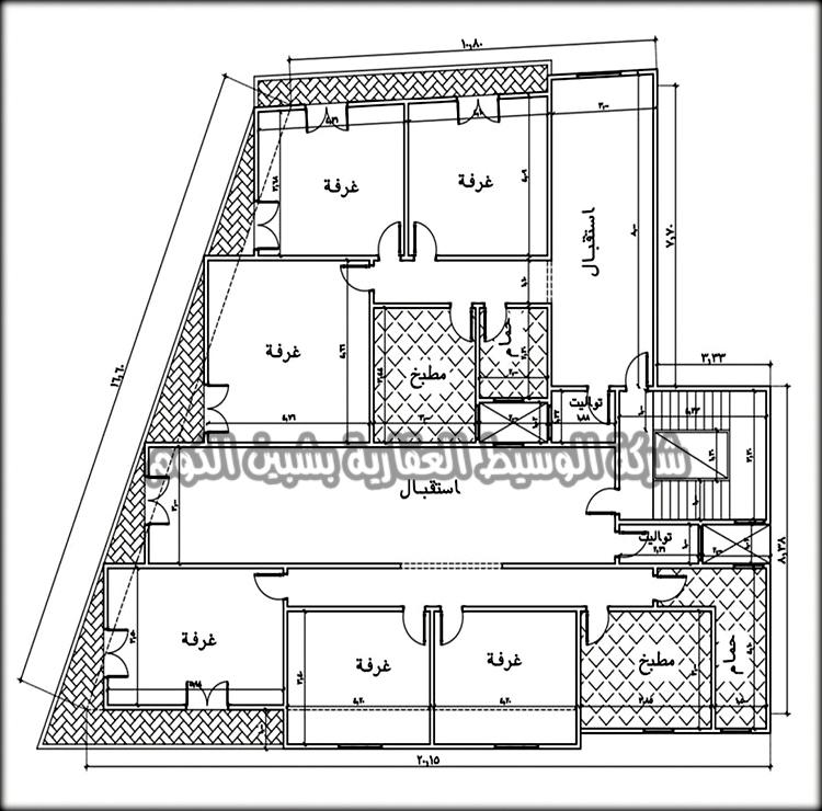 شقق تمليك ف عمارة جديده تحت الإنشاء بمساحة 155 و 175 متر بالقرب من شارع الجلاء البحرى و شيخ الشاورما و بتقسيط على سنتين من الوسيط العقارية بشبين الكوم