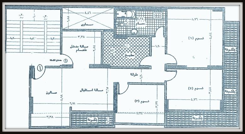 شقة تمليك للبيع بمساحة 180 متر على شارع جمال عبدالناصر الرئيسى مباشرة و ترى البحر من شركة الوسيط العقارية بشبين الكوم.