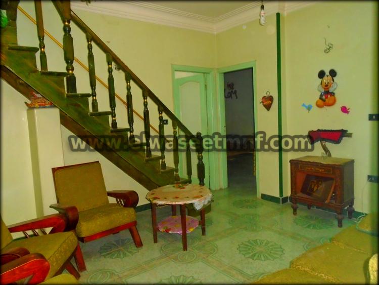 شقة إيجار مفروش بالقرب من مدرسة حسين الغراب وشارع الإستاد من شركة الوسيط العقارية بشبين الكوم