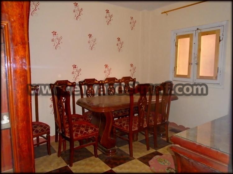 شقة إيجار مفروش بمساحة 70 متر بالقرب من شاليموه وشارع الجلاء من الوسيط العقارية بشبين الكوم