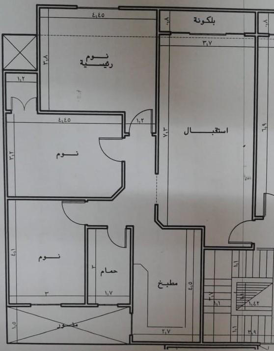 شقة تمليك للبيع بمساحة 120 متر بالدور الاول علوي ببرج جديد خلف عاطف السادات ( ش باريس ) بالقرب من الدمشقى الجديد من الوسيط العقارية بشبين الكوم