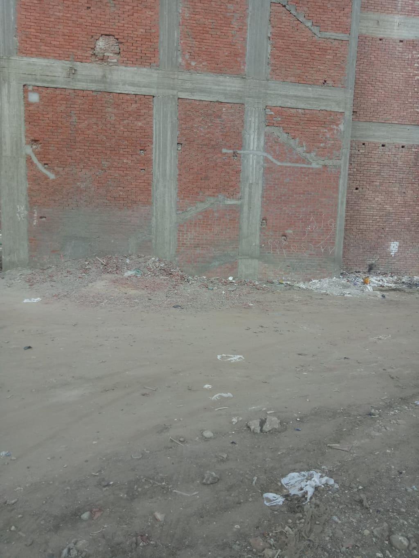 قطعة ارض مباني للبيع  133 متر علي شارع جانبي بعرض 8 متر واجهة شرقية بالقرب من مدرسة الزراعة و مستشفى الدرة  من الوسيط العقارية بشبين الكوم