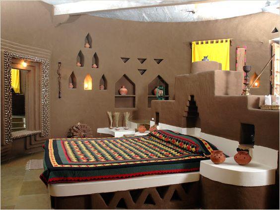 تصاميم غرف نوم على الطراز الهندي