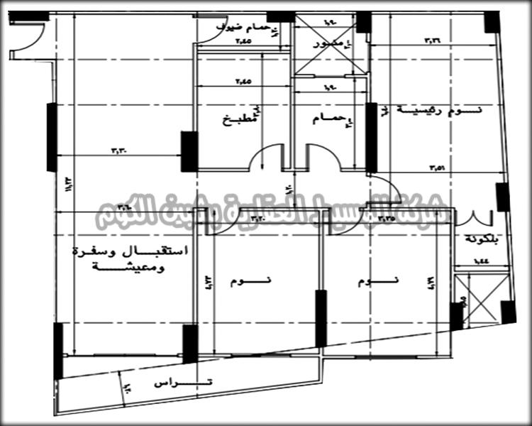 شقق تمليك بمساحات 162متر و 168 متر ببرج جديد على شارع عاطف السادات الرئيسي ( ش باريس ) بأفضل أماكن شبين الكوم من شركة الوسيط العقارية