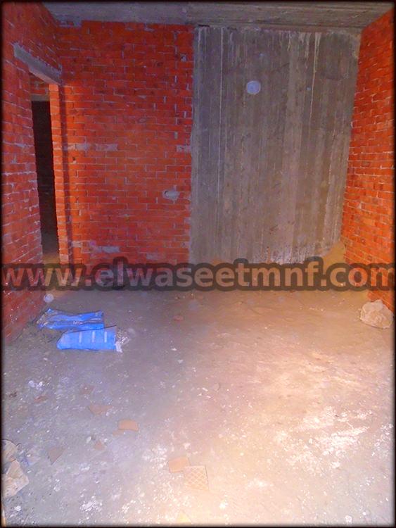 شقة تمليك للبيع بمساحة 102 ببرج جديد من الوسيط العفارية بشبين الكوم
