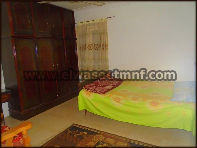 شقة إيجار مفروش مساحة 90 متر بالقرب بشاير الخير من الوسيط العقارية بشبين الكوم