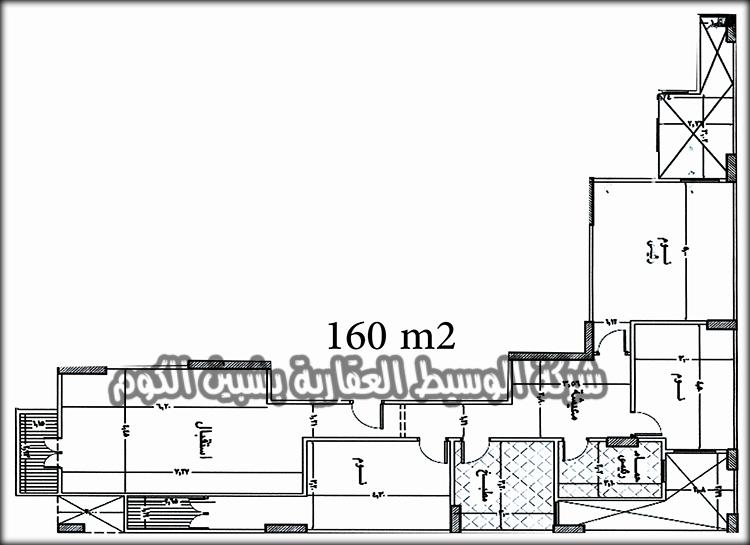 شقق تمليك للبيع بمساحة 160 متر ببرج جديد بأدوار مختلفة بالقرب من شارع عاطف السادات و بتقسيط على 30 شهر من شركة الوسيط العقارية بشبين الكوم