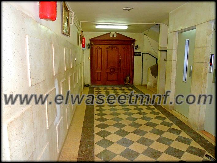 شقة إيجار مفروش بمساحة 150 متر بشارع الجلاء بالقرب من المعرض من شركة الوسيط العقارية بشبين الكوم